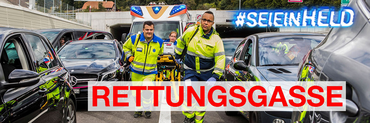 Kampagne Rettungsgasse